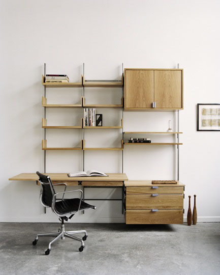 modular shelving for office